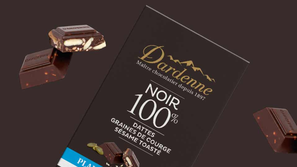 Nos packagings Chocolats Dardenne
