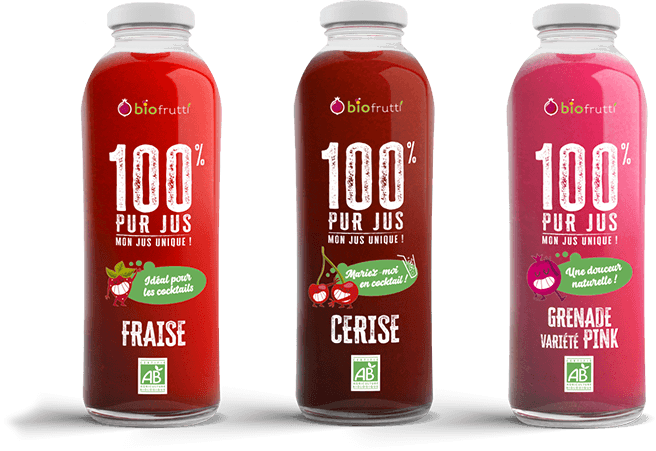 Biofrutti boissons le club des 100% pur jus
