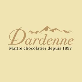 bloc logo Dardenne blanc