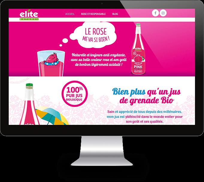 Ecran desktop Grenade Pink