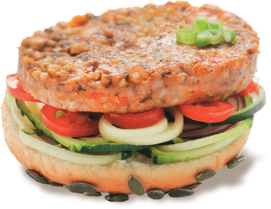 Galette végétale hamburger Senfas