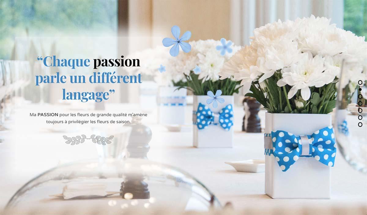 Écran passion Fleurs Création
