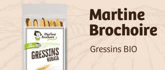 Projet : gressins BIO Martine Brochoire