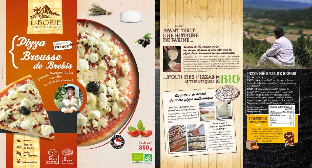Pack pizza Brousse de Brebis La Borie bio