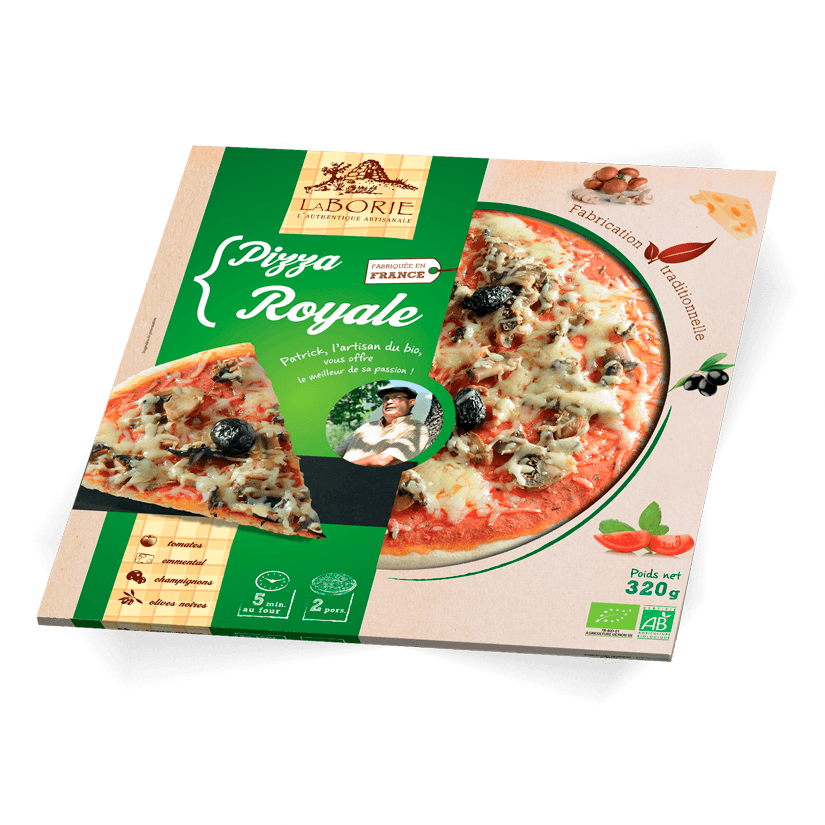 Pack pizza royale La Borie bio