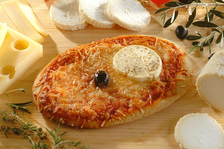 Pizza chèvre petite La Borie bio