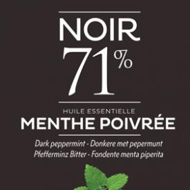 71 % noir menthe poivrée Dardenne